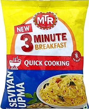 MTR 3 Minute Breakfast - Seviyan Upma Pouch, 160 g