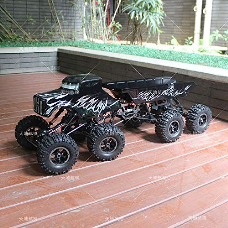 Generic 1 10 Scale RC 8WD 8X8 Rock Crawler Truck RTR MT1012 Electric Climbing car 8 Drive Wheels