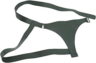 Ivyday Men Women PU Leather Body Belt Adjustable Buckle Straps Belt Buckle Belt Waist Belt