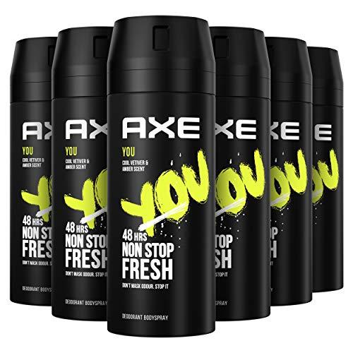 Axe You Rock Desodorante - 150 ml - Pack de 6