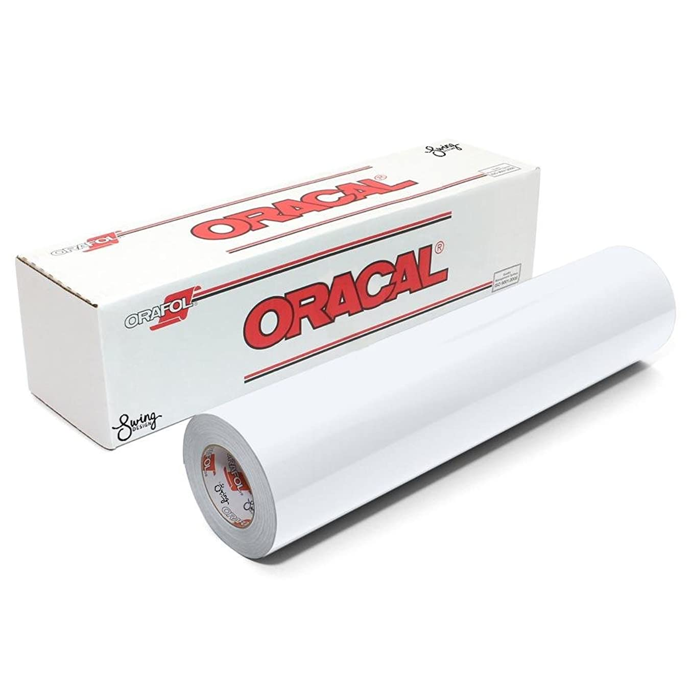 Oracal 651 Permanent Glossy Vinyl - White - 12