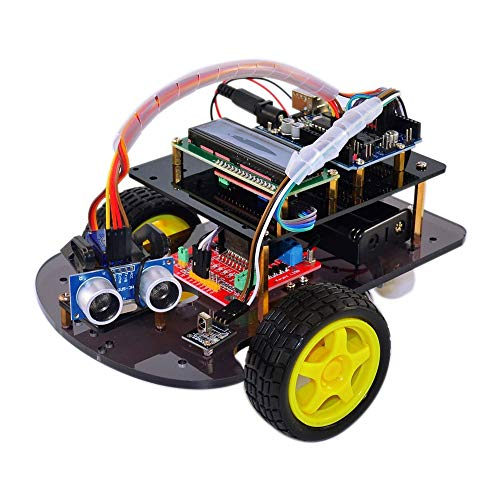 Electronic Module DIY Impudent Robot Car Kit Including for UNO R3 and Robot Chassis Kit for Arduinos Starter Durable Power Converter