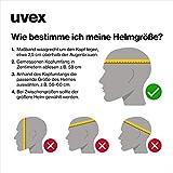 Uvex Unisex Kinder Kid 3 cc Kinderfahrradhelm, green mat, 51-55 cm - 4