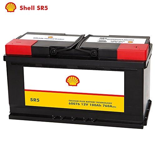 Shell Autobatterie 12V 100Ah SR5 ersetzt 88AH 90Ah 92AH 95AH