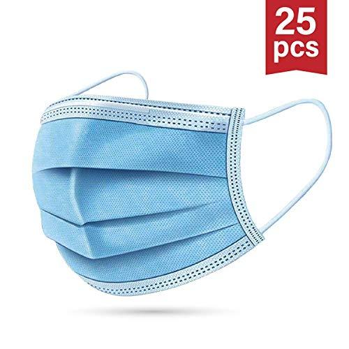 25 x Einwegmasken | Mundschutz | OP Mundschutz | Mundschutzmaske | OP Maske | Versand aus DE