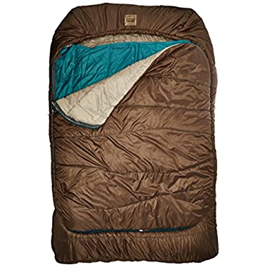 Kelty Tru.Comfort 20 Degree Double Wide Sleeping Bag, Mocha