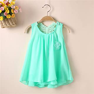 Kids Baby Girls Soild Color Sleeveless Tutu Dress Pageant Party Long Dress BabyProducts