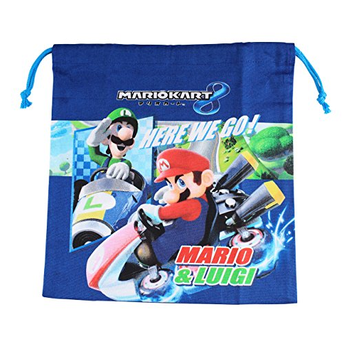 スーパーマリオ マリオカート8 巾着 (Mサイズ)