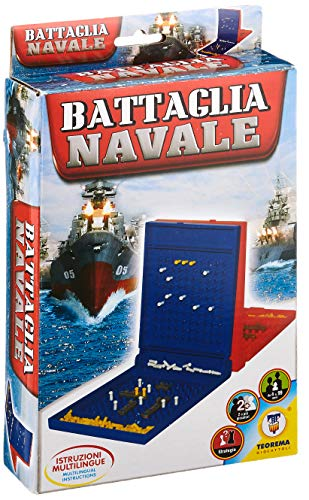 Teorema - Giochi, Battaglia Navale, Multicolore, 805078
