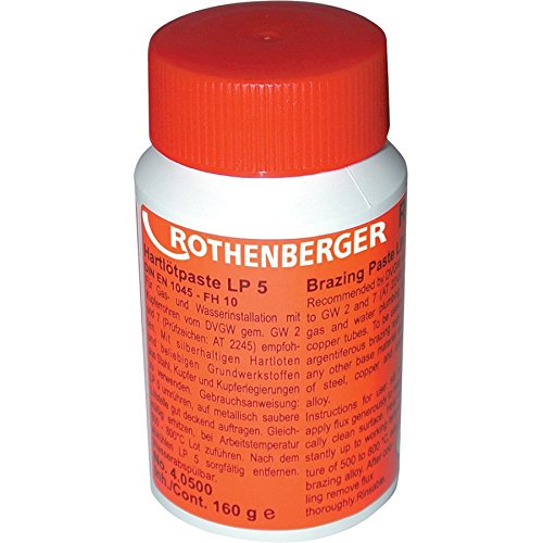 Rothenberger 40500 Hartlötpaste LP 5' 160g