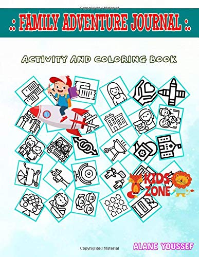Family Adventure Journal: Fun For Boys 50 Image Quizzes Words Activity And Coloring Books Sofa, Graduation, Graduation, Diaper, Car, Grandparents, Architecture And City, Mother