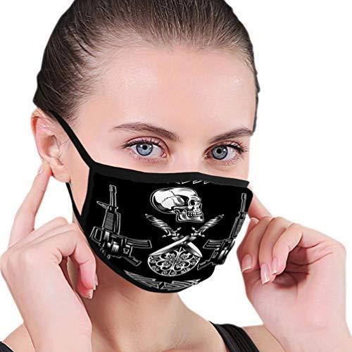 Mondbescherming B8326 witte kip in groen bikini-halfmasker mondmasker met oorbeschermer winddicht masker