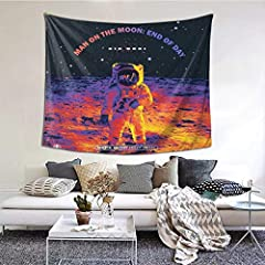Tapestry Is Made Of 100% Polyester Fabric, Which Is Soft, Durable, Safety, Lightweight And Easy To Hang Or Pack Away For Your Indoor Or Outdoor Use EASY USE & CARE: You Can Hang This Nature Art Tapestry With Decorative Tacks Or Push Pins Easily Diffe...