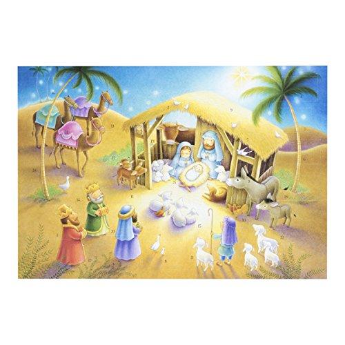 Calendrier de lAvent de Noël avec aimant–Jérusalem