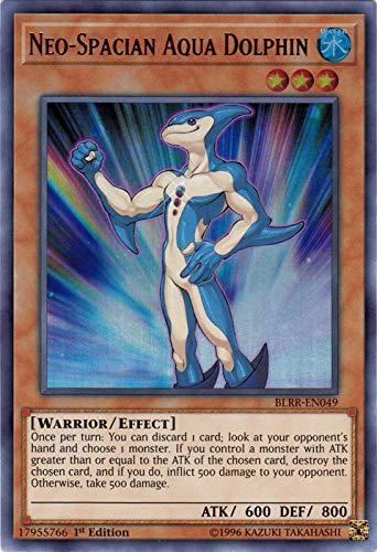 Neo-Spacian Aqua Dolphin - BLRR-EN049 - Ultra Rare - 1st Edition