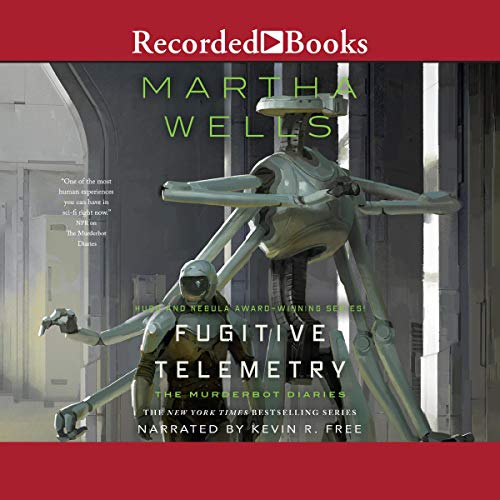 Fugitive Telemetry Audiobook By Martha Wells cover art