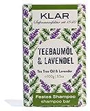 Klar's Festes Shampoo Teebaumöl & Lavendel 100g -...