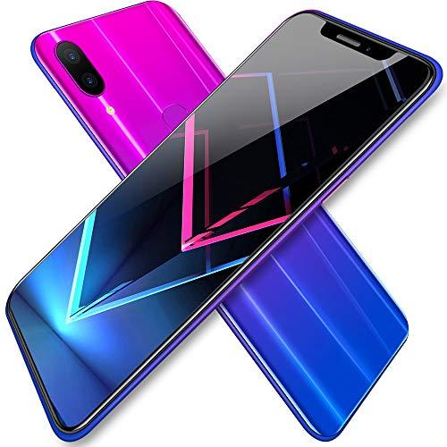 smart phone Teléfono móvil de 6.2 Pulgadas Teléfono Inteligente Teléfono Inteligente Android Teléfono móvil Dual SIM Teléfono móvil de Pantalla Grande Teléfono Android Negro Rojo Gradiente