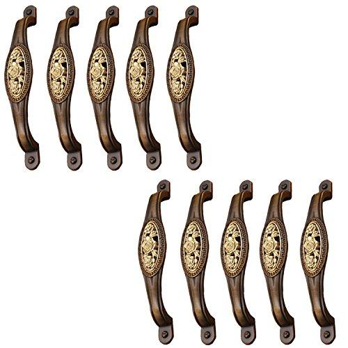 FBSHOP(TM) Bronzen Rose kabinet knop kast lade Retro Pull handvat kast kast dressoir trekkers met schroeven