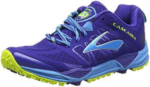 Brooks Cascadia 11, Scarpe Running Donna, Blu (Blau),...