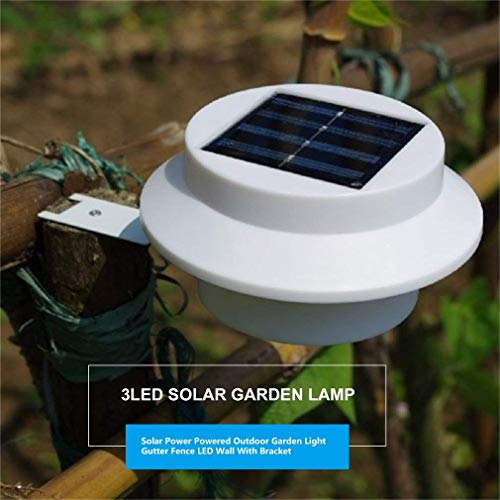 Solar Strahler 2er Set, 3 Led Solarlampen mit Bewegungsmelder - Wasserfest Solarleuchte Außen Solarpanel Strahler für Garten, Gartenhaus und Werkstatt (3 LED, 2er Set)