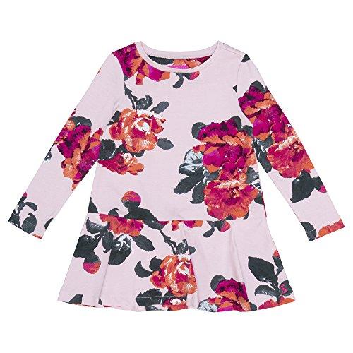 Joules Sukienka trapezowa - różowy różowy kwiatowy