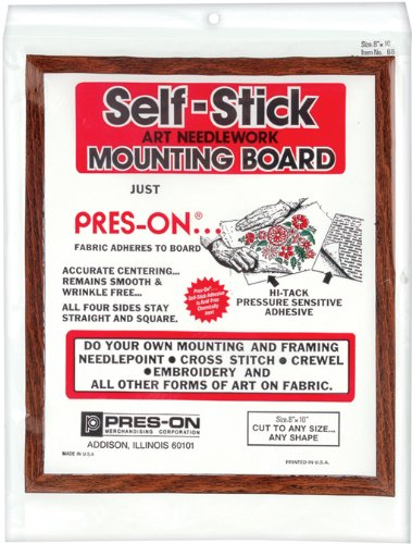 PRES ON Mounting Board, 8-Inch x 10-Inch