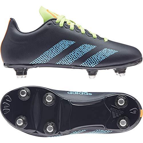 adidas Kakari Junior (SG) Rugby-Stiefel für Kinder, Mehrfarbig - Mehrfarbig (Tinley Ciasen Versen) - Größe: 29 EU