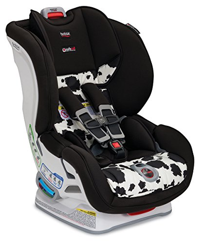 Britax Marathon ClickTight Convertible Car Seat - 1 Layer Impact Protection, Cowmooflage