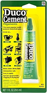 ITW Devcon 62435 6 Pack Duco Cement Multi-Purpose Household Glue 1-Ounce