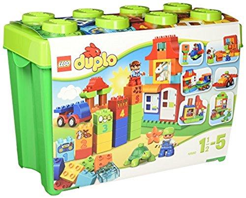 LEGO Duplo 10580 - Deluxe Steinebox, Kreatives Kinderspielzeug