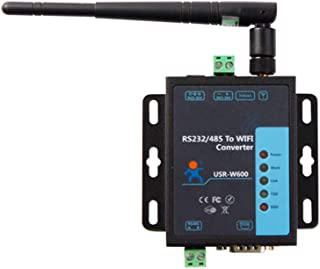 USR-W600 Cost-effictive Serial RS232 RS485 to WiFi Converter Wireless Server 3 STA Connections Built in Web Server/Webpage...