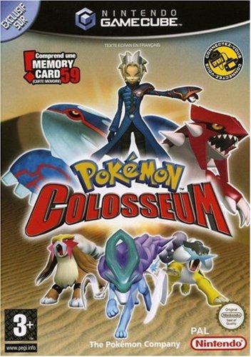 Pokemon Colosseum with free 59 blocks Memory card - GameCube - PAL