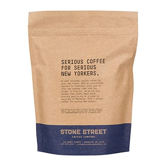 Stone Street Coffee Cold Brew Reserve, Coarse Ground, 1 LB Bag, Dark Roast, Colombian Single Origin 3 CRAFTED FOR COLD BREWING - The perfect blend for making your own cold brew coffee ROAST LEVEL - Dark Roasted for a bold, yet perfectly smooth cup of cold brew WHOLE BEAN - 100% Colombian Supremo beans so you can coarse grind them right before brewing for the freshest flavor