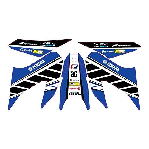 accessorypart Motorrad Aufkleber für YAMAHA WR 125 X / R WR Abziehbild Sticker kit Dekoration