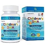 Nordic Naturals, Children's DHA (DHA für Kinder), 250mg, Erdbeere, 180 Mini-Weichkapseln | Gentechnikfrei | Molekular distilliert | Garantierte Reinheit | Kein fischiger Nachgeschmack
