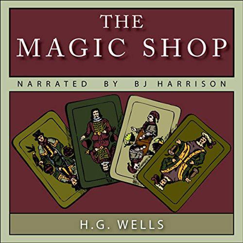 The Magic Shop audiobook cover art