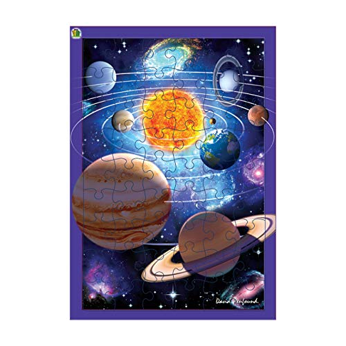 3D LiveLife Tray Jigsaw Puzzle - You Are Here. Lenticular 3D Space Puzzle with 40 Pieces! Tray Puzzle Range from Deluxebase. Original artwork licensed from renowned artist, David Penfound!