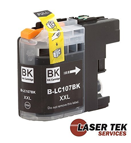 Laser Tek Services High Yield Compatible Ink Cartridge Replacements for Brother LC109BK (Black, 4-Pack) Photo #4