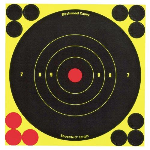 Birchwood Casey Shoot-N-C 6-inch Rund Ziel (60 Blatt-Packung)