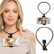 Hands Free Phone Holder Lazy Neck Cell Phone Mount Wearable Hang On Neck Holder Mount Kit For iPhone Samsung Action Camera