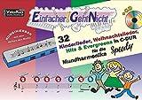 Einfacher!-Geht-Nicht: 32 Kinderlieder, Weihnachtslieder, Hits & Evergreens in C-DUR – für die Mundharmonika SPEEDY® mit CD: Das besondere Notenheft für Anfänger