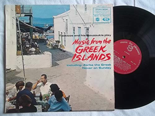 Music From The Greek Islands - Tacticos And His Bouzoukis LP