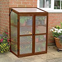 "Gardman 7652 Wooden Cold Frame and Growhouse, FSC Certified Timber, 22"" Long x 30"" Wide x 43"" High"