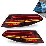 VLAND LED Fanali Posteriori per Golf 7 MK7 MK7.5 2013-2020 Fanali Posteriori a LED con Indicatori di Direzione Fendinebbia