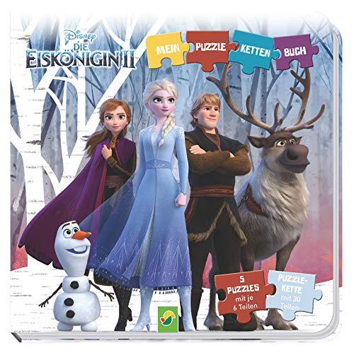 Die Eiskönigin 2 -Mein Puzzle-Ketten-Buch: Mit 5 Puzzles mit je 6 Teilen