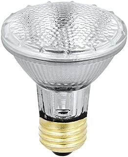 Feit Electric 38PAR20/QFL/ES/6 50 Watt Equivalent 38W Indoor/Outdoor Flood Halogen PAR20 light bulb, Soft 6 Pack, 2900K Warm White, 6