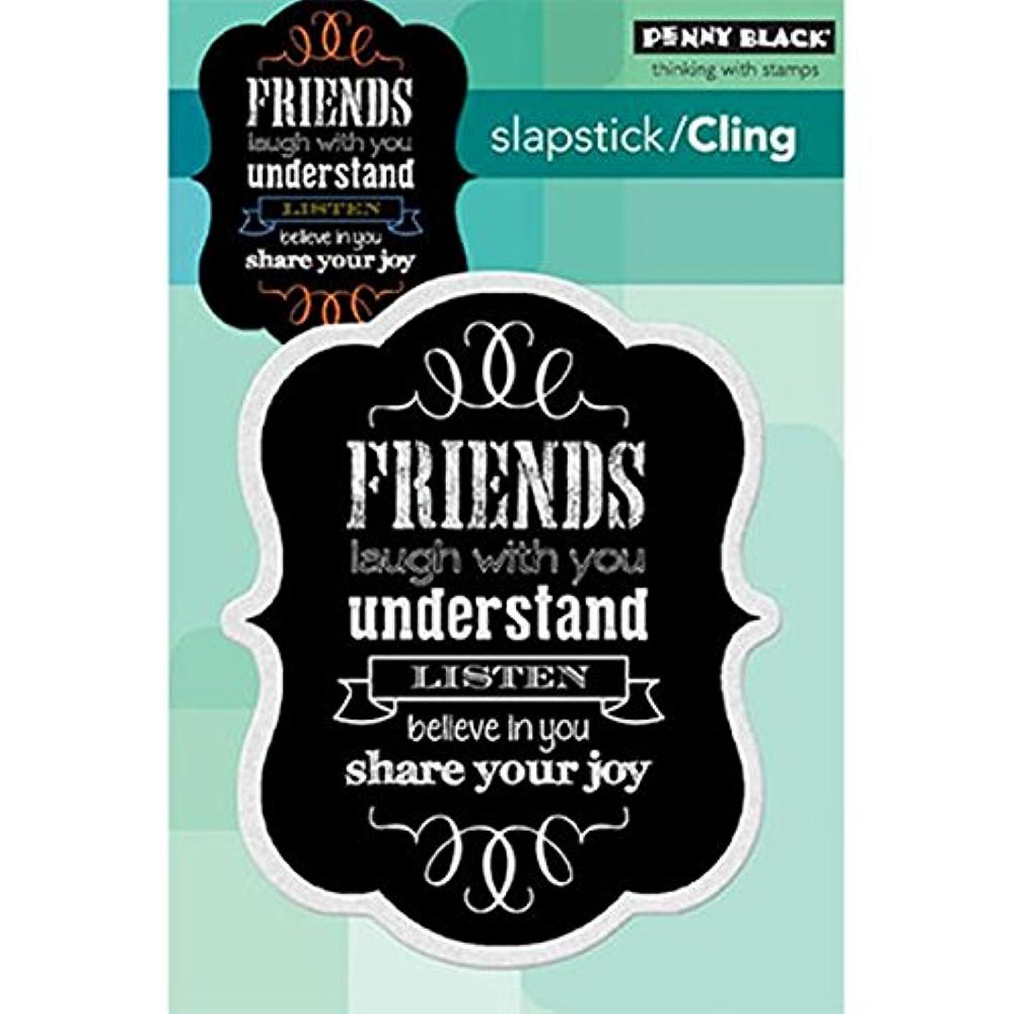 Penny Black Chalkboard Friendship Decorative Stamp