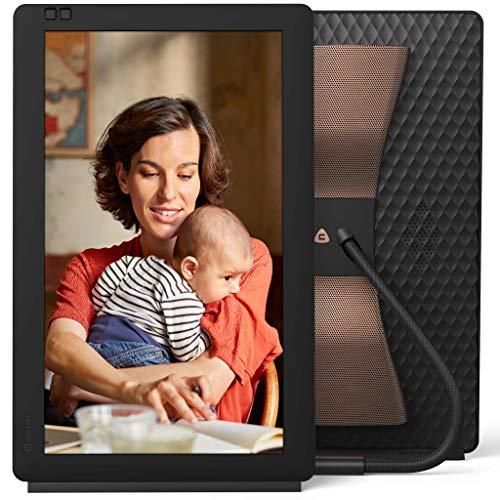 Nixplay 13.3 Zoll Bluetooth digitaler Bilderrahmen, E-Mail, App, Google Fotos, Dropbox, Verizon Cloud, Facebook und Instagram Verbindung, Model: Seed Wave