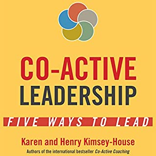 Co-Active Leadership audiobook cover art
